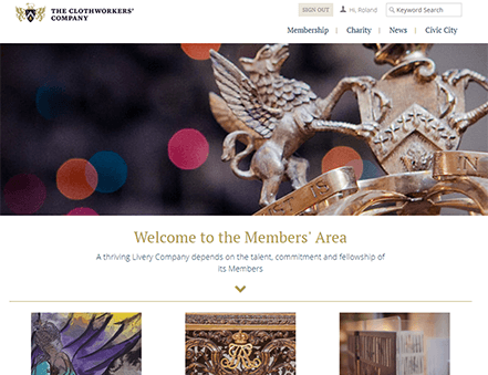 The Clothworkers' Company powers their website with iMIS CMS