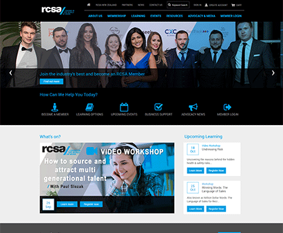 RCSA powers their website with iMIS CMS