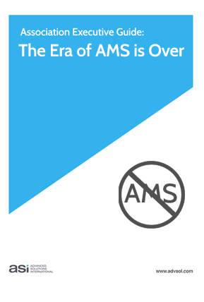The Era of AMS Software is Over