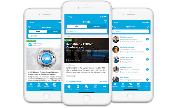 Engage Members with the Clowder for iMIS App