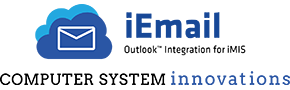 iMIS Association Management Software works with iEmail Outlook Integration from Computer System Innovations