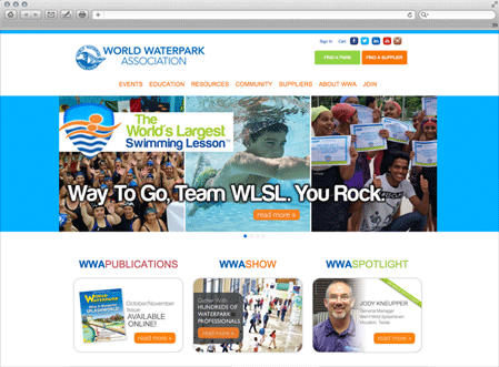 World Waterpark Association uses iMIS Membership and Fundraising CRM