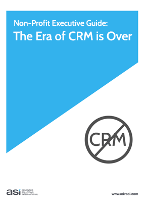 The Era of CRM Software is Over