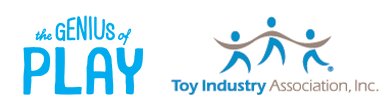 Toy Industry Association and Genius of Play
